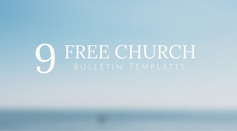 church bulletin templates for word - 9 free bulletin templates an awesome digital option