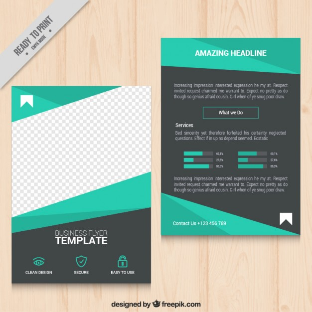 geometric-green-business-flyer_23-2147536876