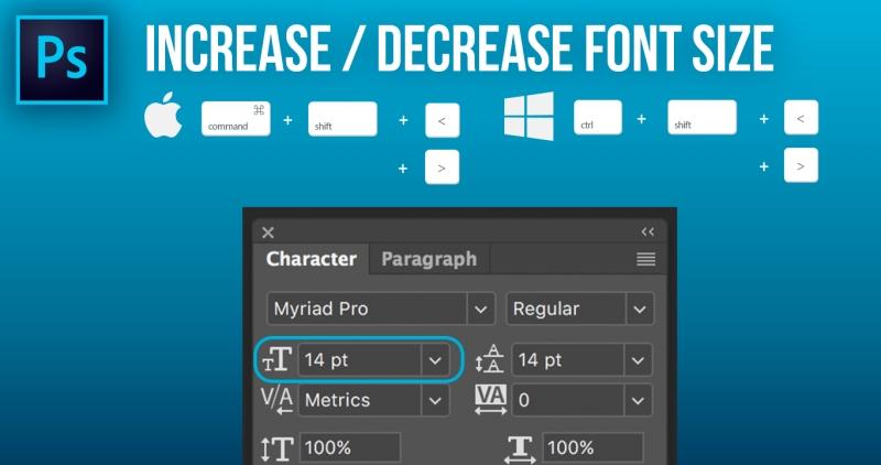 7 font size